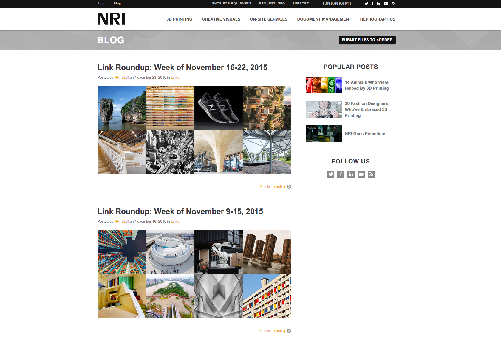 NRI Website